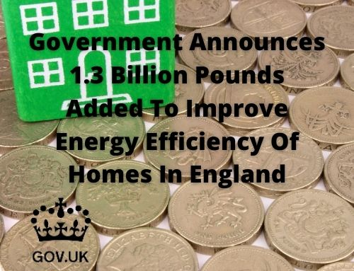 1.3 Billion Pounds Added To Improve Energy Efficiency Of Homes In England