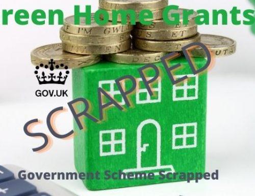 Green Homes Grant Scheme Scrapped